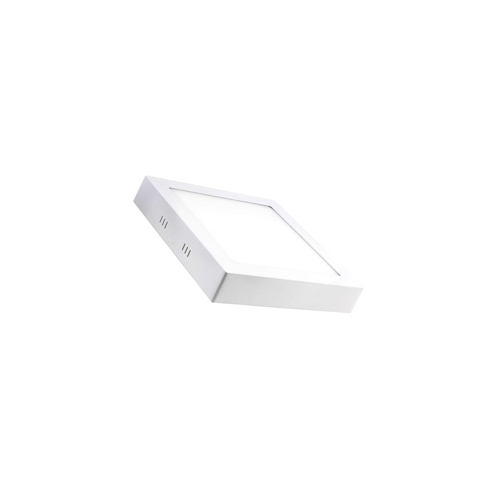 Dalle LED saillie 12W - Carrée - 230V