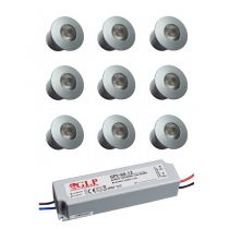 Packs mini spots LED